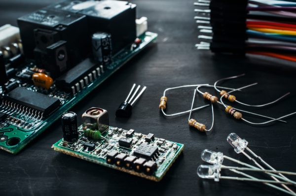Components for electronics development, diy
